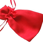 Red Satin Gift Bag (+$1.00)