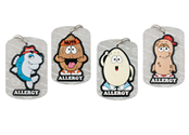 Kid's AllerMates Necklace Tags
