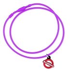 AllerMates Silicone Necklace - Purple