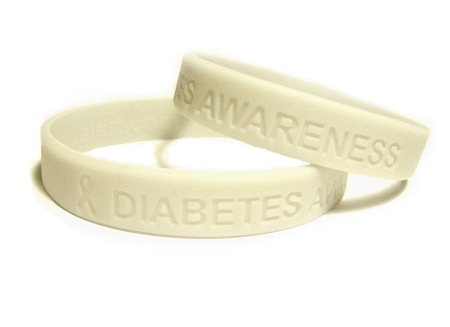 Gray Diabetes Awareness Brain Cancer Support Brain Cancer Silicone