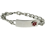 Children's Sterling Silver Medical ID Bracelet