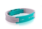 MyID Luxe Medical Bracelet - Gray and Turquoise