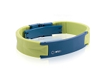MyID Luxe Medical Bracelet - Green and Blue