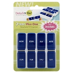 Detach N Go! 7-Day Plus One Detachable Pill Organizer