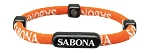 Sabona Athletic Magnetic Bracelet - Orange