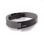 MyID Luxe Medical Bracelet - Gray and Black