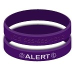 Design Your Own Silicone Medical Alert Wristband Bracelet
