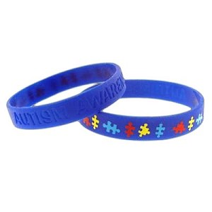 Autism Awareness Silicone Bracelet