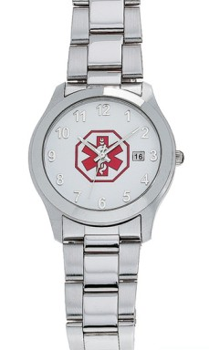 Men's Medical ID Watch with Date