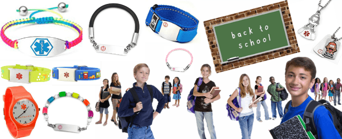 Back to School: Protect Your Kids with Stylish Medic Alert Jewelry
