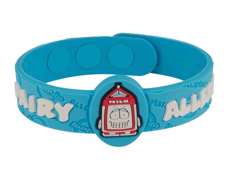 Dairy Allergy AllerMates Wristband