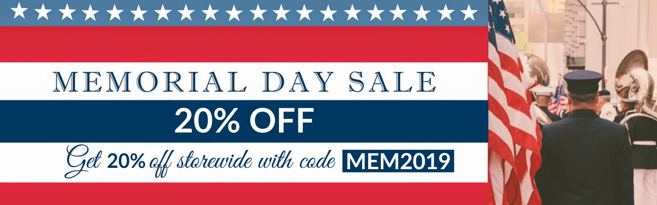 Memorial Day Sale: Limited Time Discounts