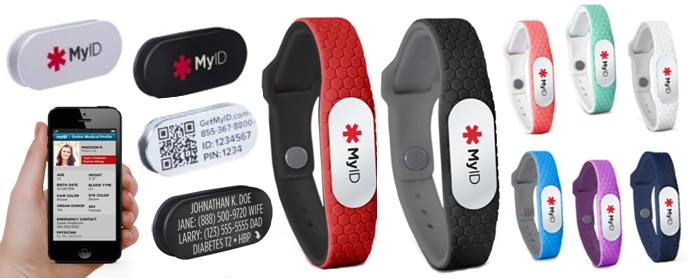 The Myid Hive Is Perfect Bracelet For People With Medical Needs Active Lifestyles Aging Pas And Young Children