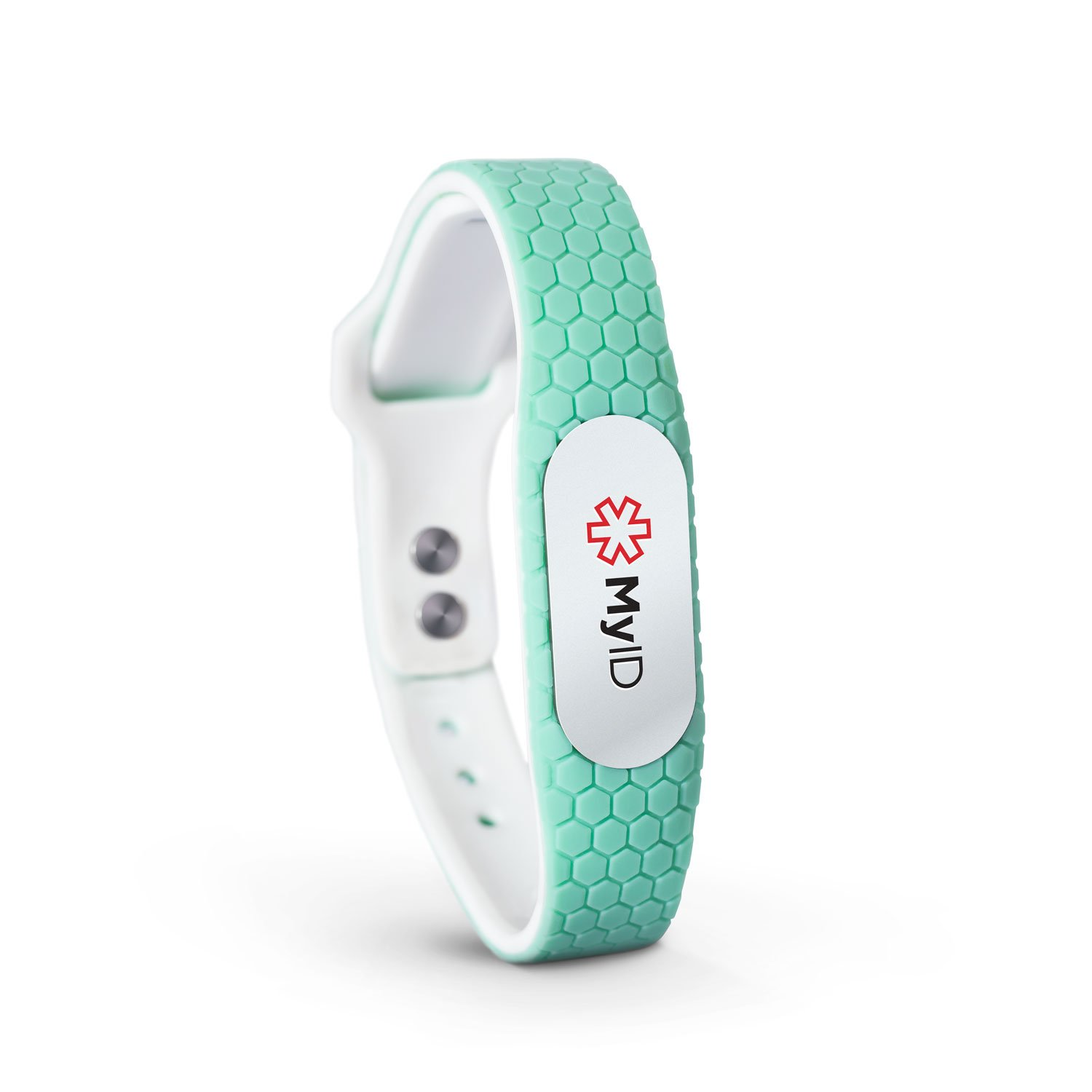 MyID Hive Medical ID Bracelet - Mint