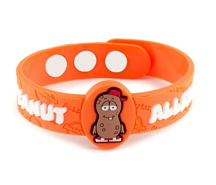 Peanut Allergy Allermates Wristband Emid950