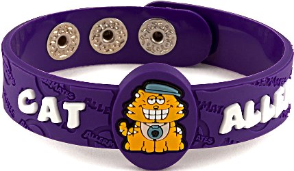Cat Allergy AllerMates Wristband