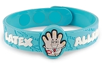 Latex Allergy AllerMates Wristband