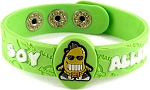 Soy Allergy AllerMates Wristband
