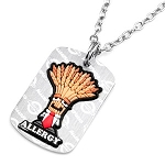 Wheat / Gluten Free AllerMates Tag Necklace