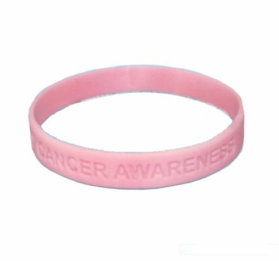 Breast Cancer Awareness Silicone Bracelet
