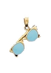 14K Yellow Gold Sunglasses with Moveable Parts Fun Charm