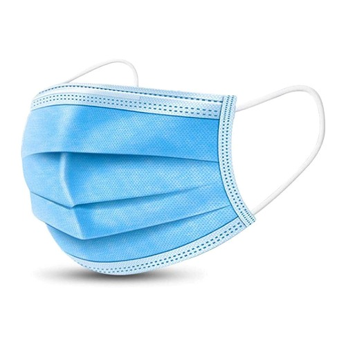 3-Ply Disposable Face Mask - Pack of Ten