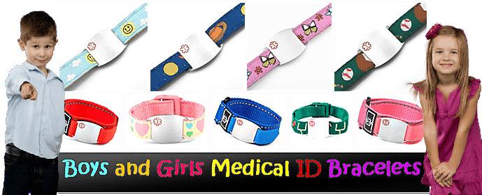 Kid S Medical Id Jewelry Elegant Medical Alert