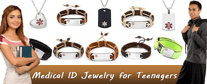 Medical ID Jewelry for Teenagers