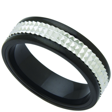 Wedding Band Stainless Steel 6mm Ring