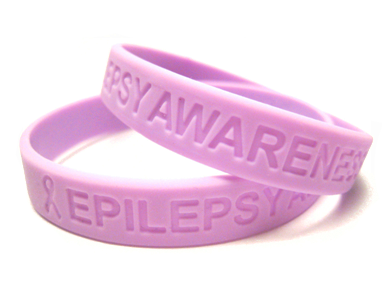 Epilepsy Awareness Silicone Bracelet