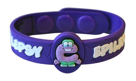 Epilepsy Medimates Wristband