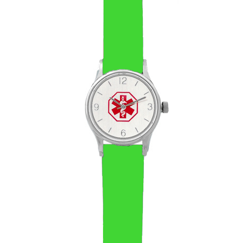 Kid's Medical ID Watch - Green