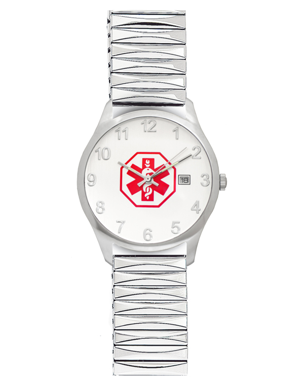 Men's Medical ID Expansion Watch