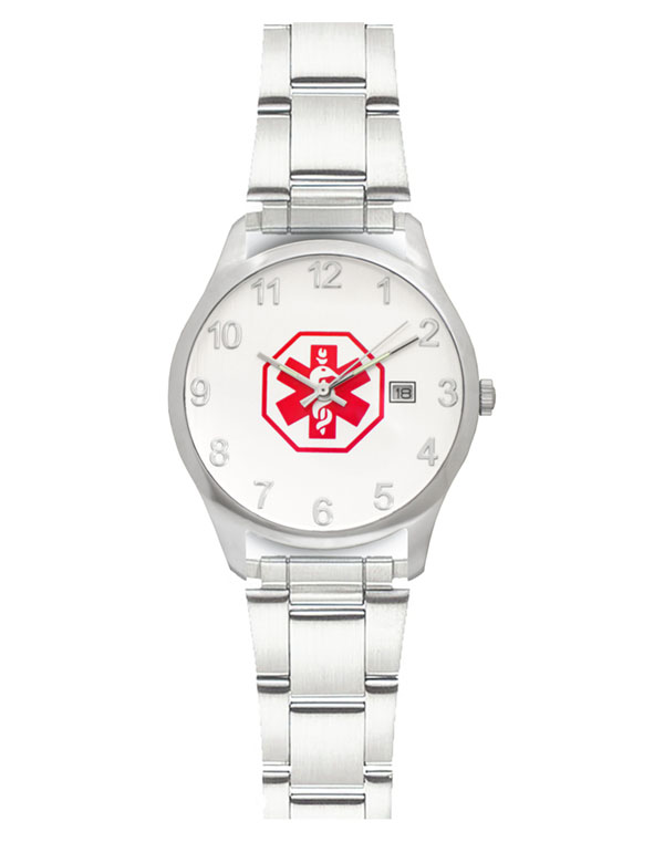 Men's Medical ID Link Watch