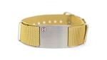 Nato Medical ID Bracelet - Tan