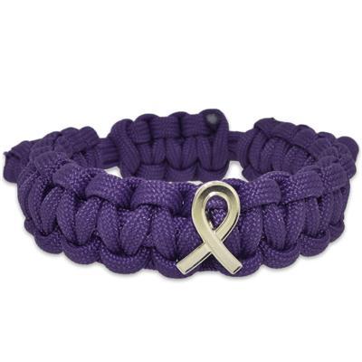 Lupus Awareness Paracord Bracelet
