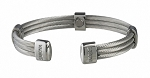 Trio Cable Stainless Sabona Magnetic Bracelet