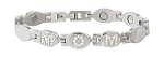 Mom Stainless Gem Magnetic Bracelet by Sabona