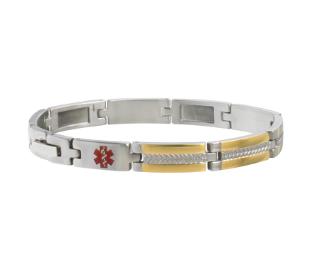 Sabona My Conditions Medical ID Bracelet - Two-Tone