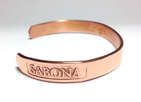 Copper Sabona Medical ID Bracelet - DIABETIC