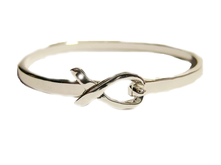 sterling heart bangle bracelet silver logo bangles with clasp pandora