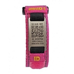 SmartKidsID Child ID and Medical ID Sport Bracelet - PINK