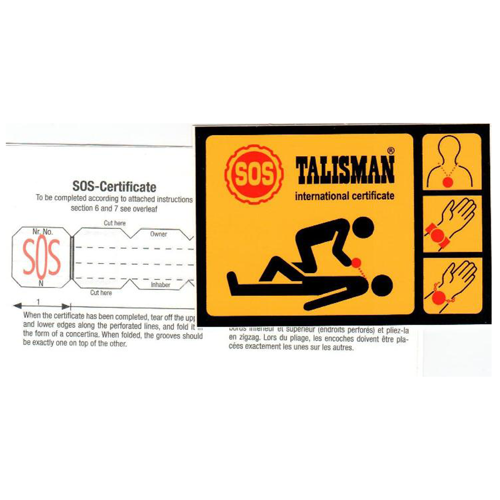 SOS Emergency Medical ID Replacement Strips