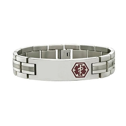 Apex Titanium Medical ID Bracelet