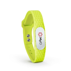 MyID Hive Medical ID Bracelet - Neon Green