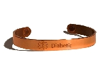 Copper Sabona MAGNETIC Medical ID Bracelet - DIABETIC