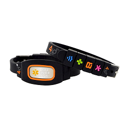 4id Sports Medical Identification Bracelet - ORANGE