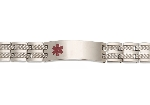 Equinox Titanium Medical ID Bracelet