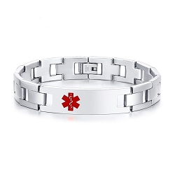 Genesis Stainless Steel Medical ID Bracelet