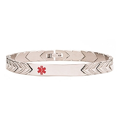 Grace Titanium Medical ID Bracelet